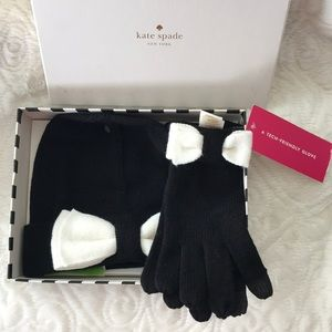 Kate Spade Bennie & Gloves with Bow